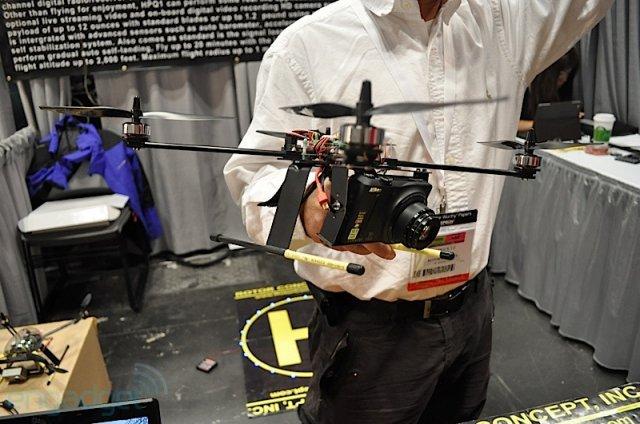 Квадрокоптер для фотокамеры (17 фото + видео)