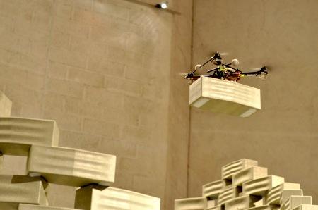 Летающие роботы-строители