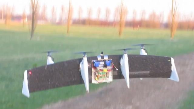 Беспилотные летающие трансформеры (3 видео)