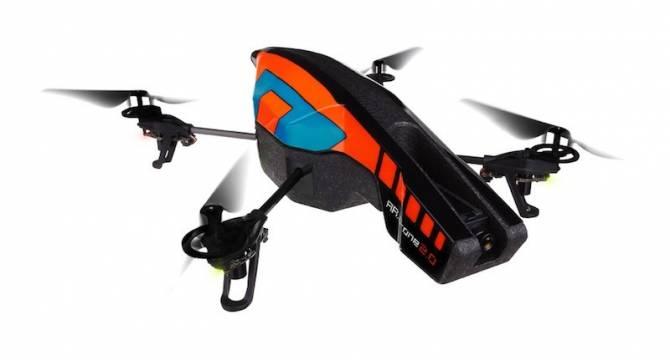 Квадрокоптер Parrot AR.Drone 2.0 скоро в продаже (5 фото)